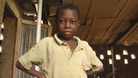 Falissou, le plus jeune de la famille Amboussidi qui m