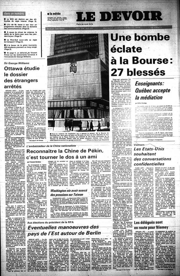 ledevoir-14-fevrier-1969-p1