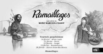 Ramaillages en tournée gaspésienne - Bannière