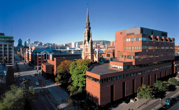 Université du Québec à Montréal (Pavillon Judith-Jasmin) - Crédit UQAM.